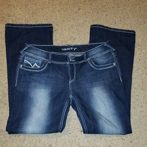 Womens Jeans dark wash straight leg NWOT